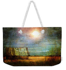 Shack On The Prairie Corner  Weekender Tote Bag by Sandra Foster