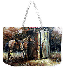 Shade For My Horse Weekender Tote Bag by Lee Piper