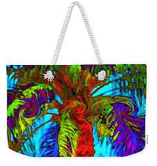 Shade Trees On Venus Weekender Tote Bag by Alec Drake