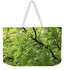 Shades Of Green Weekender Tote Bag