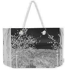 Shades Of Grey Weekender Tote Bag