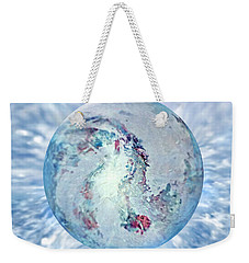 Shades Of Winter Weekender Tote Bag by Robin Moline