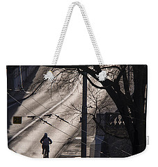 Weekender Tote Bag featuring the photograph Shadow And Light by Muhie Kanawati