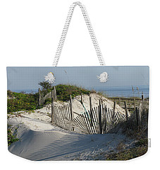 Shadow Fence Weekender Tote Bag