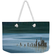 Shadow Host In The Mist Weekender Tote Bag by Stanza Widen