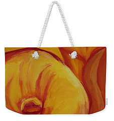 Shadow Lily Weekender Tote Bag