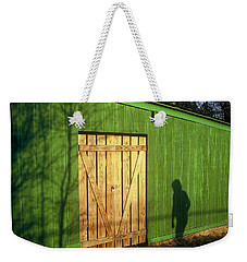 Shadow Man Weekender Tote Bag