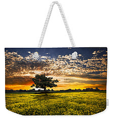 Shadows At Sunset Weekender Tote Bag by Debra and Dave Vanderlaan
