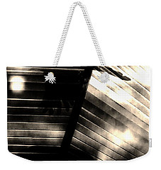 Weekender Tote Bag featuring the photograph Shadows Symphony  by Jessica Shelton