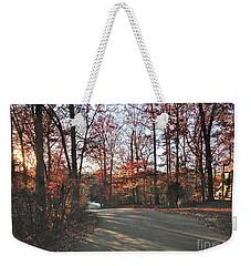 Shadowy Lane Weekender Tote Bag