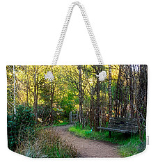 Weekender Tote Bag featuring the photograph Shady Dell by Kate Brown