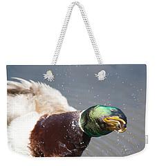 Shake It Off Weekender Tote Bag