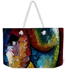 Shapeliness I Weekender Tote Bag by Dragica  Micki Fortuna