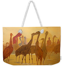 Shapes Just Shapes Formas Nada Mas Weekender Tote Bag by Lazaro Hurtado