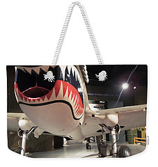 Weekender Tote Bag featuring the photograph Shark Aircraft by Aaron Martens