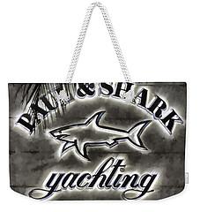 Shark Sign Weekender Tote Bag