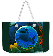 Shark World  Weekender Tote Bag