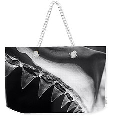 Shark's Teeth Weekender Tote Bag by Lynn Palmer