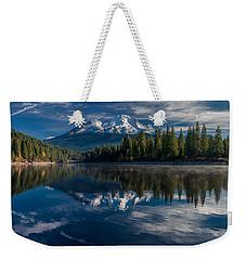 Shasta And Lake Siskiyou Weekender Tote Bag