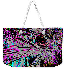 Weekender Tote Bag featuring the photograph Shatter  by Jamie Lynn