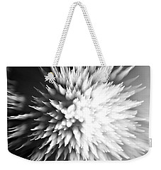 Weekender Tote Bag featuring the photograph Shattered by Dazzle Zazz
