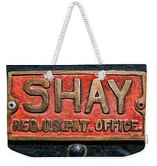 Shay Builders Plate Weekender Tote Bag