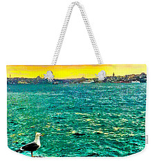 She Is Late Again  Weekender Tote Bag by Zafer Gurel