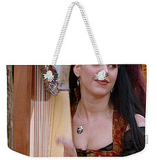 She Plays In Beauty Weekender Tote Bag