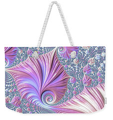 Weekender Tote Bag featuring the digital art She Shell by Susan Maxwell Schmidt