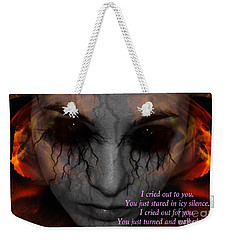 She Turned And Walked Away Weekender Tote Bag