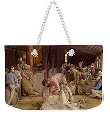 Shearing The Rams  Weekender Tote Bag