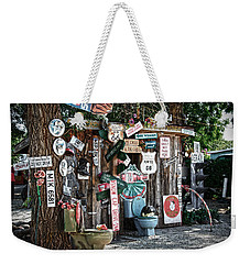 Shed Toilet Bowls And Plaques In Seligman Weekender Tote Bag