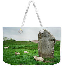 Sheep At Avebury Stones - Original Weekender Tote Bag