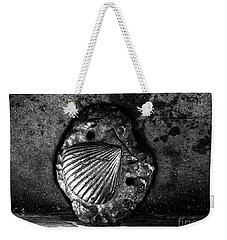 Weekender Tote Bag featuring the photograph Shell 1 by Fei A