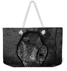 Weekender Tote Bag featuring the photograph Shell 2 by Fei A