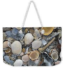 Shell Mosaic Weekender Tote Bag