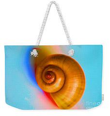 Shell Weekender Tote Bag by Oksana Semenchenko