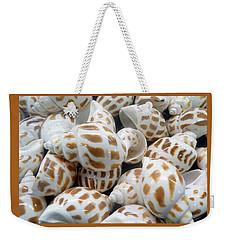 Shells - 7 Weekender Tote Bag by Carla Parris