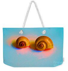 Shells In Colors Weekender Tote Bag