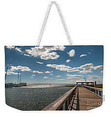 Shem Creek Pavilion  Weekender Tote Bag
