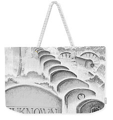 Weekender Tote Bag featuring the digital art Shenandoah  by Carol Jacobs