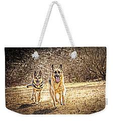 Shepherds On The Run Weekender Tote Bag by Eleanor Abramson