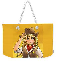 Sheriff Tammy Weekender Tote Bag