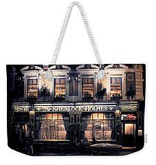 Sherlock Holmes Pub Weekender Tote Bag