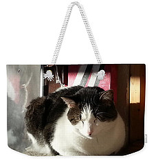 Weekender Tote Bag featuring the photograph Shhh by Caryl J Bohn