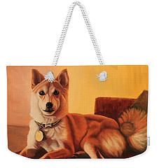 Shiba Inu Portrait Weekender Tote Bag