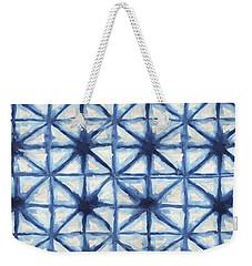 Shibori Iv Weekender Tote Bag by Elizabeth Medley