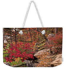 Shifting Colors Weekender Tote Bag by David Troxel