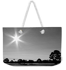 Weekender Tote Bag featuring the photograph Shine And Rise by Faith Williams