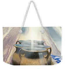 Second Corinthians Four Verse Seven Weekender Tote Bag